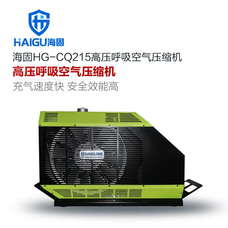HG-CQ215系列高压呼吸空气压缩机 正压式空气呼吸器充气泵 呼吸空气压缩机
